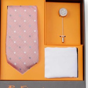 Other - Tie, pocket square and lapel pin set